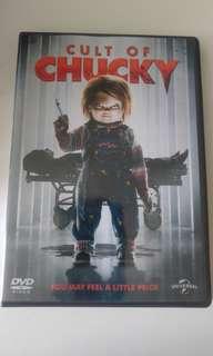 包郵 CULT OF CHUCKY娃鬼血祭瘋人院DVD