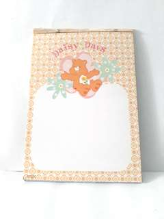 Care bear memo paper sheet