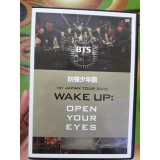 BTS WAKE UP (OPEN YOUR EYES) DVD
