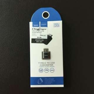 Hoco (UA5) USB Type-C to USB A (Female) Adapter