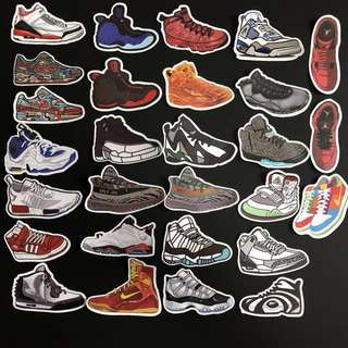 Sticker WaterProof High Quality - Branded Streetwear Sneaker and Shoes Decals