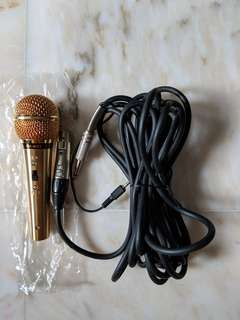 Gold Professional Microphone