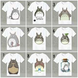 Unisex Totoro Tshirt