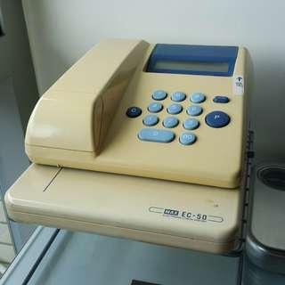 支票機 ELECTRONIC CHECK WRITER