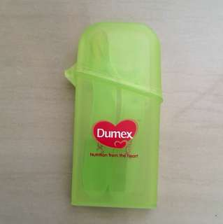 Dumex spoon and fork