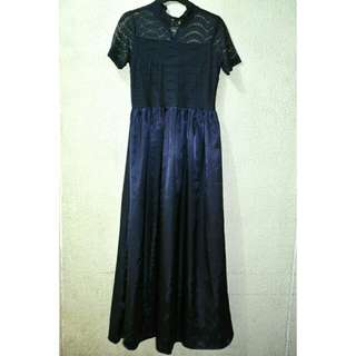 MEG* Navy Blue Formal Dress