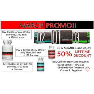 FRONTROW LUXXE PRODUCTS PROMO