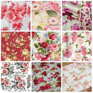 LOOKING FOR SPANDEX FLORAL FABRIC