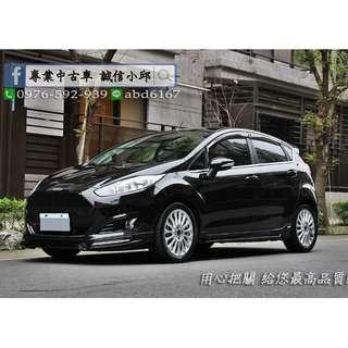 ▶▶FORD Fiesta 1.0S 渦輪版精改小鋼砲◀◀