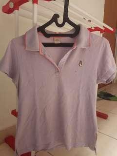 Hush Puppies shirt lavender