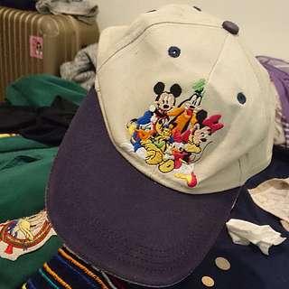 🚚 稀有 刺繡 古著 迪士尼 老帽