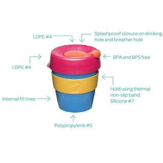 KeepCup Original 循環再用咖啡膠杯