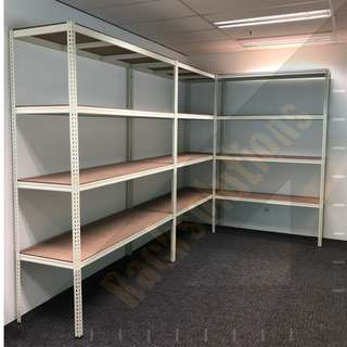 Storeroom Rack (Boltless, Modern, Sleek, Practical, Durable, Stable)