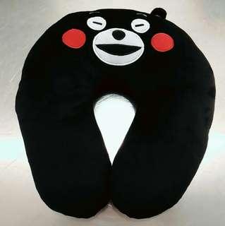全新Kumamon 熊本熊頸枕