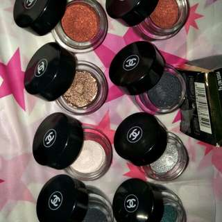 Chanel eyeshadow pots