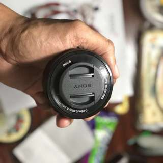 Sony 16-50 e-mount kit lens