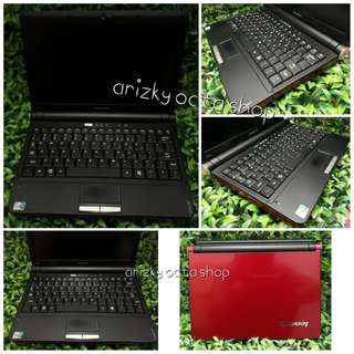 Notebook/Laptop Lenovo Ideapad S10-e red edition