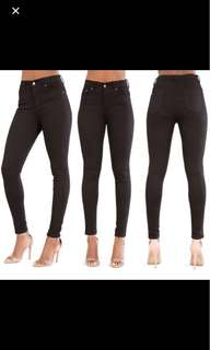 BN instock skinny jeans highwaisted