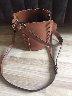 Korea style bucket bag