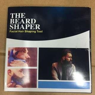 The beard shaper (face hair shaping tool)