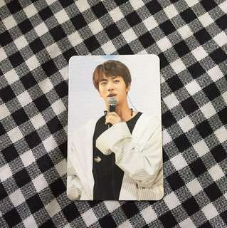 THE WINGS TOUR JIN OFFICIAL PC