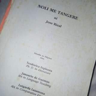 Noli me tangere and Makabayan books