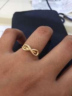 18karat infinity ring