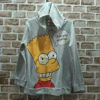 The Simpson Hoodie 2013 Size L Panjang 63 Lebar 52