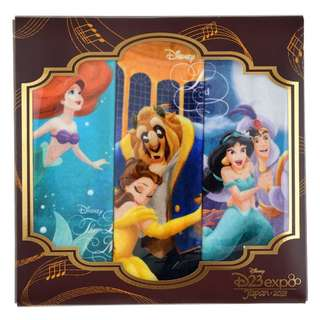 Japan Disneystore Disney Store Alan Menken Series D23 Expo Mini Towel Set