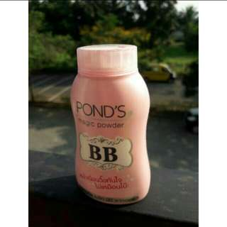 PONDS MAGIC BB POWDER Dengan double UV protection.