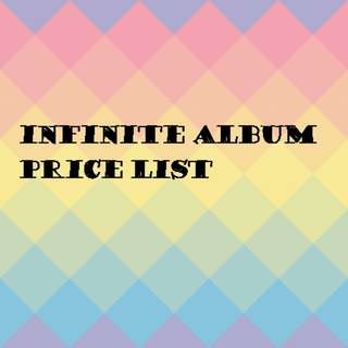 Infinite album price list
