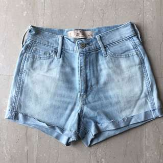 Hollister High Rise shorts size 24