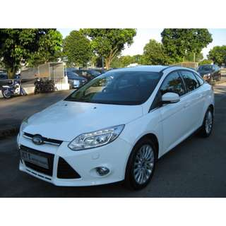 Ford Focus Sedan 1.6 Auto Titanium