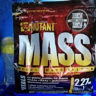 Mutant Mass with Free Shaker