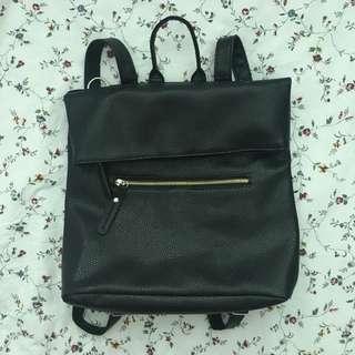 PU Leather backpack/shoulder bag