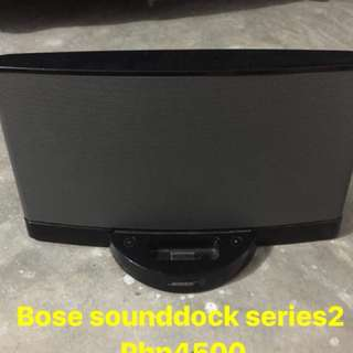 Bose Sound dock series 2