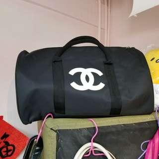 Chanel香水柜贈品旅行袋兩用袋化妝袋手袋 LV Gucci Dior