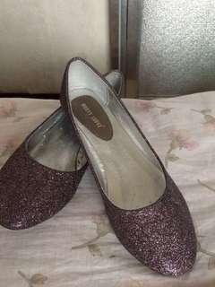 Rusty Lopez glitter shoes