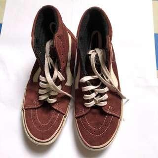 Sepatu VANS Ori warna maroon