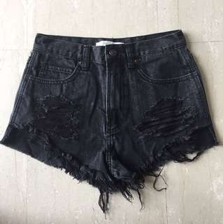 Abercrombie and Fitch High Rise shorts size 24
