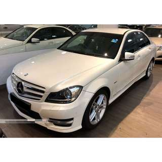 Mercedes Benz C300 (V6 Engine with Twin Exhaust, High Spec) @ $88,800