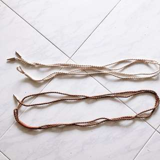 Braided Waist Belts