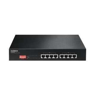 Edimax Long Range 8-Port Fast Ethernet PoE+ Switch with DIP Switch ES-1008P V2