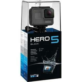 Cicilan GoPro Hero 5 free Memory 32gb + Tongsis