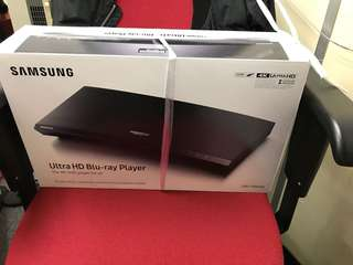 Samsung 4K bluray Player