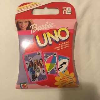 #FEB50 Barbie UNO Cards