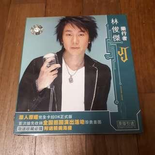 林俊杰《乐行者》 karaoke VCD + poster