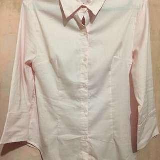 Kemeja The Executive pink soft size XL