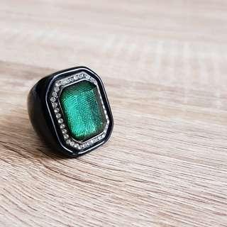 Emerald Dress Ring (Fancy Jewelry)