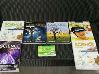 Lower secondary Science and English books